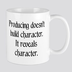 Producing reveals character Mug
