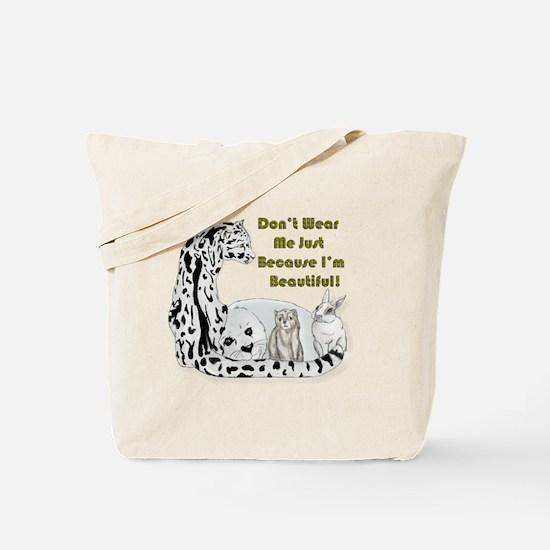 anti fur Tote Bag
