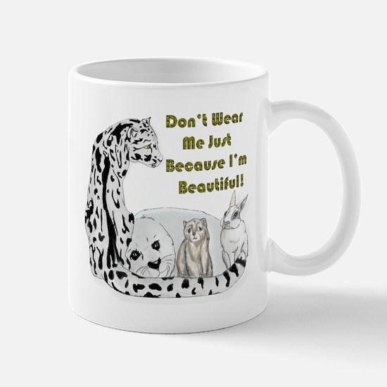anti fur Mug