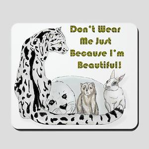 anti fur Mousepad