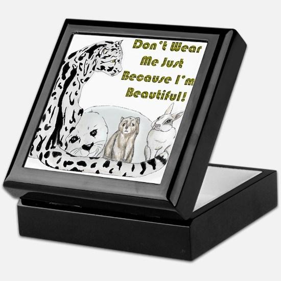 anti fur Keepsake Box