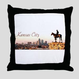 Kansas City Scout - Throw Pillow