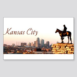 Kansas City Scout - Rectangle Sticker