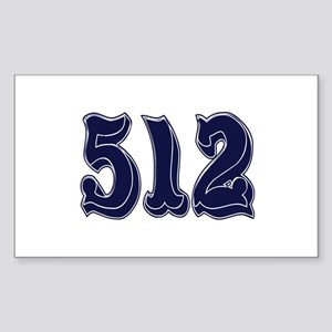 512 Rectangle Sticker