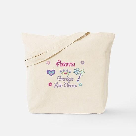 Grandpa's Princess Arianna Tote Bag