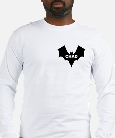 BLACK BAT CHAD Long Sleeve T-Shirt