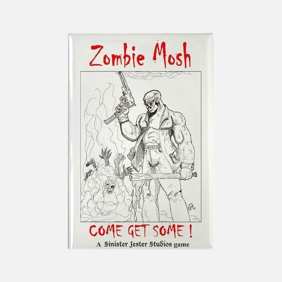 Zombie Mosh promo magnet