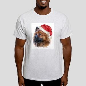 Christmas Eurasier Light T-Shirt