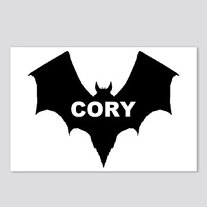 BLACK BAT CORY Postcards (Package of 8)