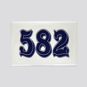 582 Rectangle Magnet