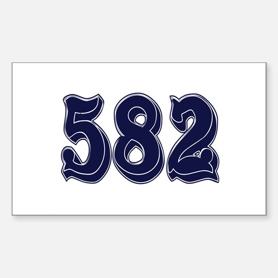 582 Rectangle Decal