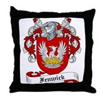 Fenwick Family Crest Throw Pillow