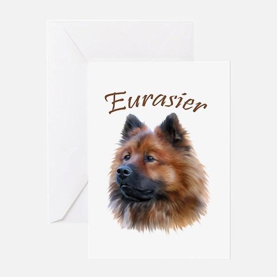 Eurasier Greeting Card