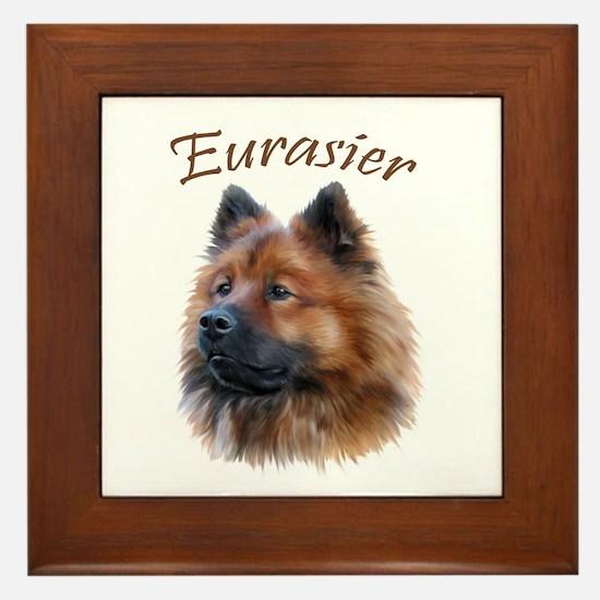 Eurasier Framed Tile