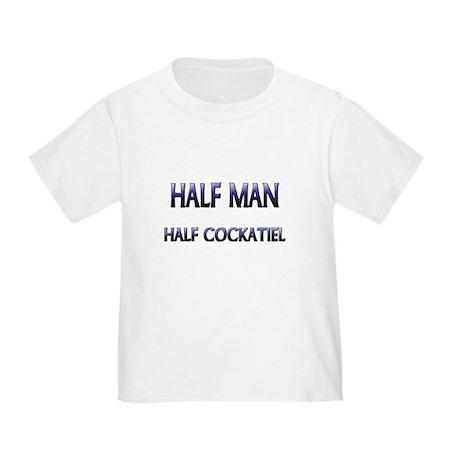 Half Man Half Cockatiel Toddler T-Shirt