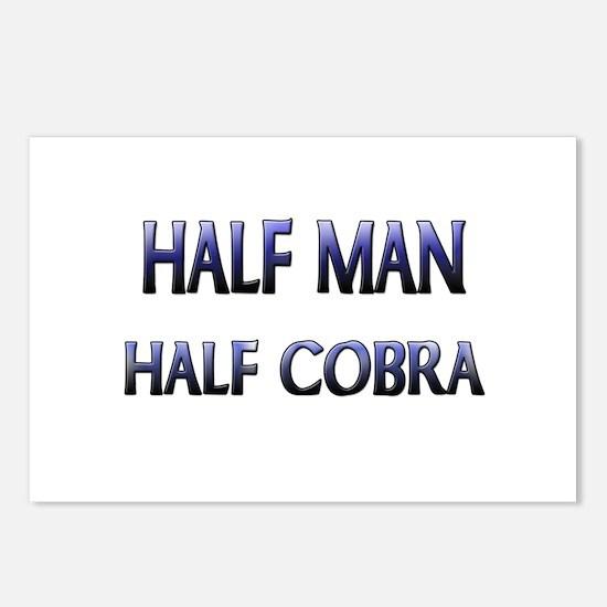 Half Man Half Cobra Postcards (Package of 8)