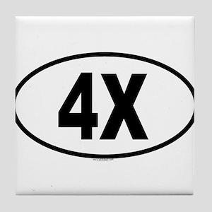 4X Tile Coaster