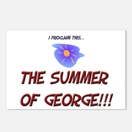 Summer  of George Postcards (Package of 8)