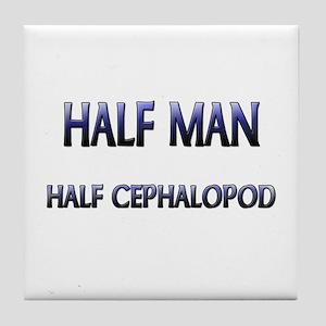 Half Man Half Cephalopod Tile Coaster