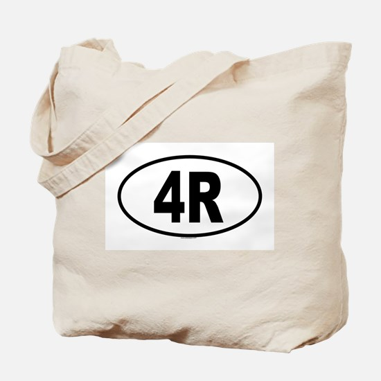 4R Tote Bag