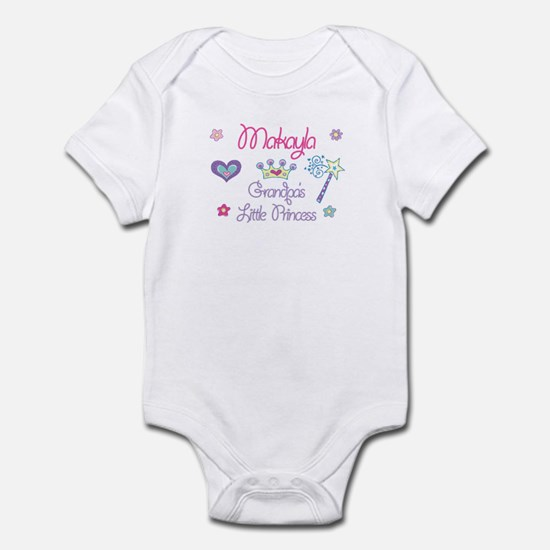 Grandpa's Princess Makayla Infant Bodysuit