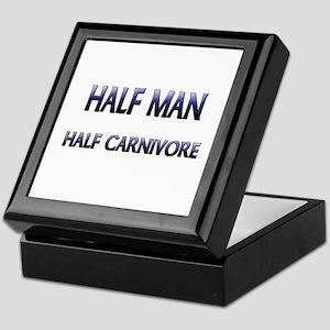 Half Man Half Carnivore Keepsake Box