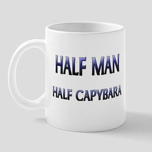 Half Man Half Capybara Mug