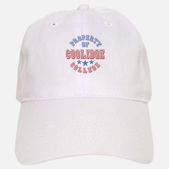 Coolidge College Property Of Baseball Baseball Cap