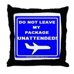 My Package Throw Pillow