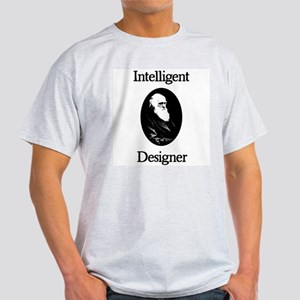 Charles Darwin: Intelligent Designer Ash Grey T-Sh