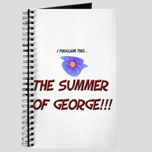 The Summer of George! Journal