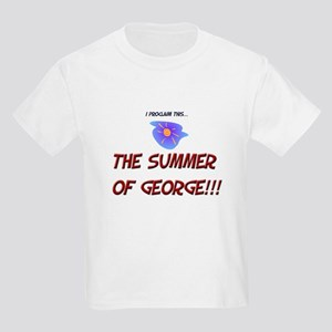 The Summer of George! Kids T-Shirt