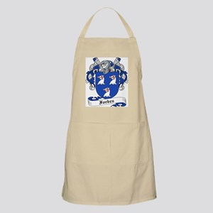Forbes Family Crest BBQ Apron