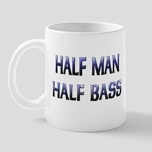 Half Man Half Bass Mug