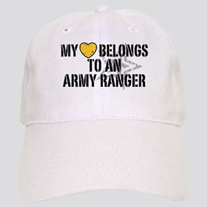 My Heart Belongs to an Army Ranger Cap