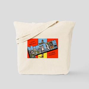 Michigan Upper Peninsula Tote Bag
