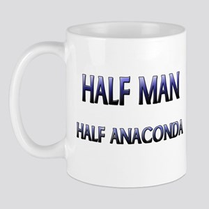 Half Man Half Anaconda Mug