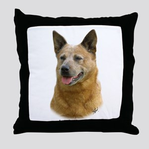 Aust Cattle Dog 9K009D-19 Throw Pillow
