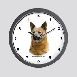 Aust Cattle Dog 9K009D-19 Wall Clock