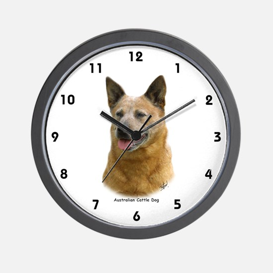 Aust Cattle Dog 9K009D-19 Wall Clock