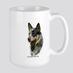 Australian Cattle Dog 9F061D-05 Large Mug