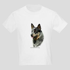 Australian Cattle Dog 9F061D-05 Kids Light T-Shirt