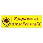 Kingdom of Drachenwald Bumper Sticker