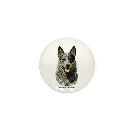 Australian Cattle Dog 9F061D-03 Mini Button