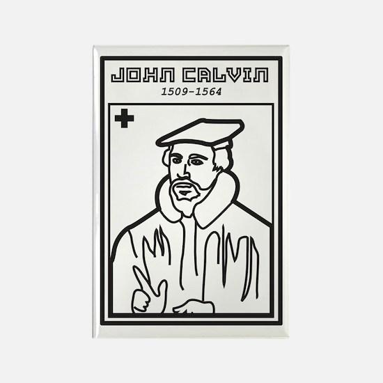 John Calvin Rectangle Magnet