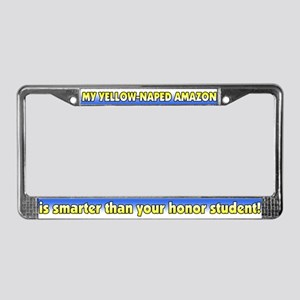 Honor Student YN Amazon License Plate Frame