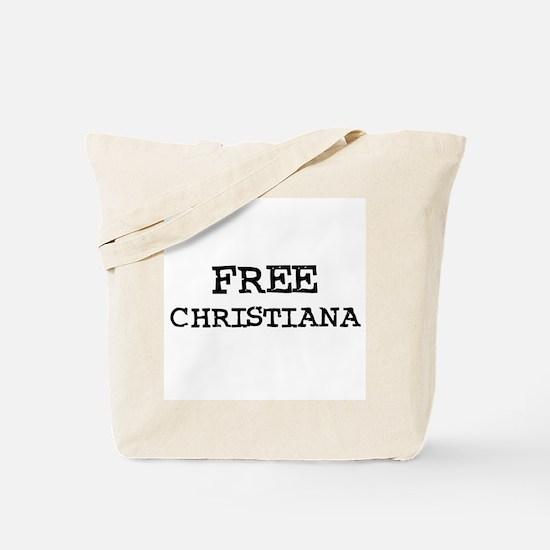 Free Christiana Tote Bag
