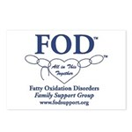 FOD GROUP Postcards (Package of 8)