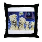 WHEATIE family of 4 Throw Pillow