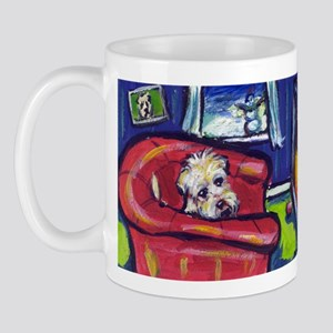 SOFT COATED WHEATEN TERRIER f Mug